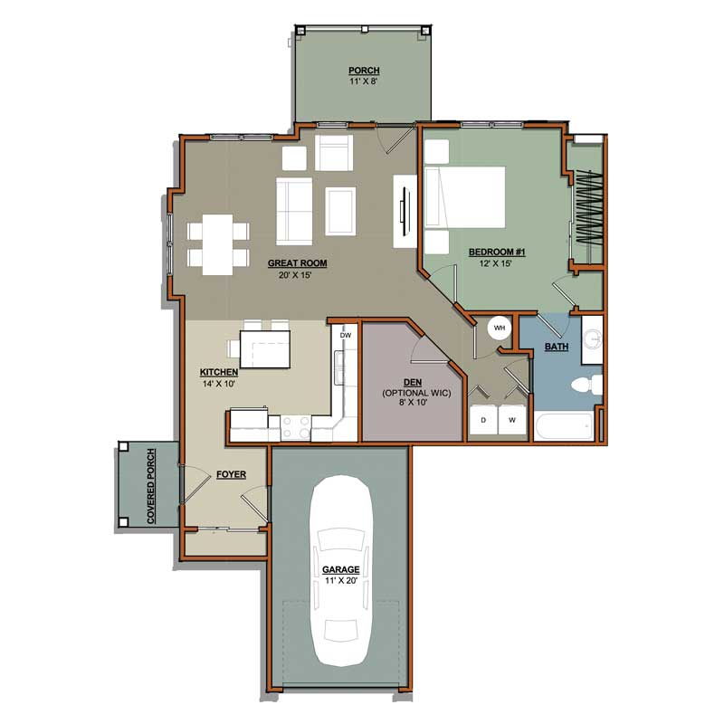 Portscape floor plans hci properties for Floor plan plus